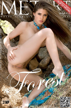 MetArt Caprice A in Forest