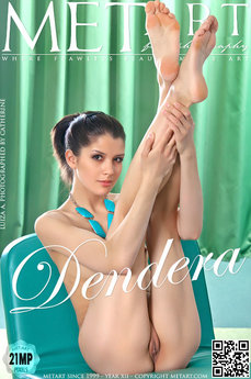 4 MetArt members tagged Luiza A and nude photos gallery Dendera 'svelte'