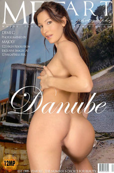 12 MetArt members tagged Demi C and erotic images gallery Danube 'smooth skin'