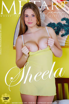 84 MetArt members tagged Sheela A and erotic images gallery Presenting Sheela 'pretty face'
