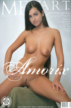 2 MetArt members tagged Ennie A and naked pictures gallery Amorix 'labia piercing'
