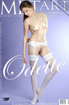 MetArt Gallery Presenting Odette with MetArt Model Odette A
