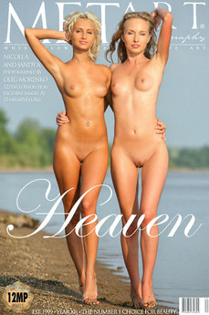 MetArt Gallery Heaven with MetArt Models Nicolle A & Sandy A