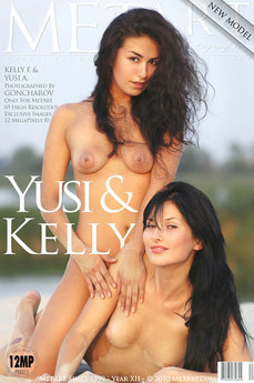 10 MetArt members tagged Kelly F & Yusi A and nude pictures gallery Presenting Yusi & Kelly 'beach'
