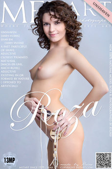 32 MetArt members tagged Roza B and erotic photos gallery Presenting Roza 'unshaven'