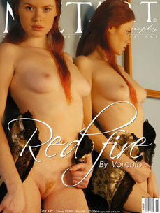 54 MetArt members tagged Tanya I and nude pictures gallery Red Fire 'red bush'