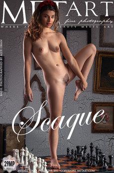 Met Art Scaque erotic images gallery with MetArt model Kassi