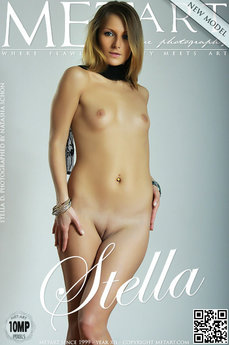 9 MetArt members tagged Stella D and erotic images gallery Presenting Stella 'shy'