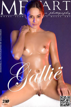 23 MetArt members tagged Dominika A and naked pictures gallery Gallie 'pretty feet'