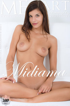 MetArt Gallery Midiama with MetArt Model Candice Luka