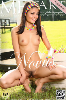 6 MetArt members tagged Shereen A and nude photos gallery Novis 'unshaved'
