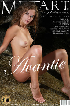 22 MetArt members tagged Paula B and erotic photos gallery Avantie 'unshaved'