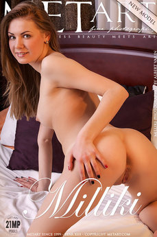 MetArt Milliki Photo Gallery Presenting Milliki Albert Varin