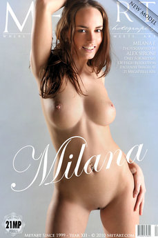 MetArt Gallery Presenting Milana with MetArt Model Milana F