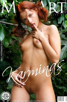 3 MetArt members tagged Inna Q and erotic images gallery Karminas 'schoolgirl'