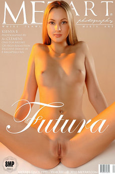 332 MetArt members tagged Ksenya B and erotic images gallery Futura 'skinny'