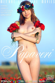 MetArt Gallery Papaveri with MetArt Model Lidiya A