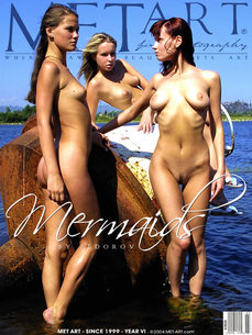 erotic photography gallery Mermaids with Ashanti A & Julia F & Koika