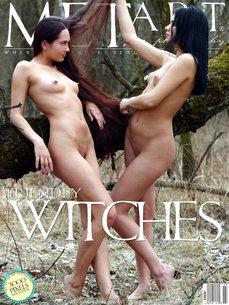 MetArt Gallery Friendly Witches with MetArt Models Xeniya B & Zhenya B