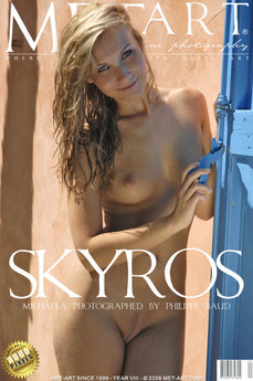 15 MetArt members tagged Tania G and naked pictures gallery Skyros 'blue eyes'