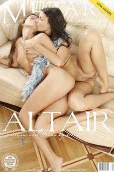 23 MetArt members tagged Alena E & Irina N and naked pictures gallery Altair 'erotic'