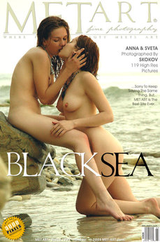erotic photography gallery Black Sea with Eva F & Silvia B
