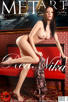 erotic photography gallery Red Nika with Nika E