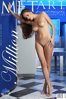 MetArt Gallery Million with MetArt Model Milana F