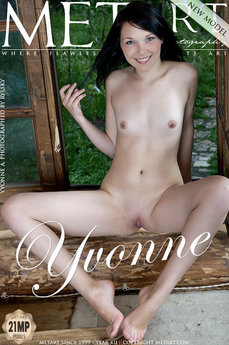 123 MetArt members tagged Yvonne A and nude photos gallery Presenting Yvonne 'pretty smile'