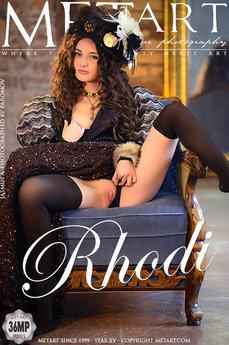 Met Art Rhodi naked pictures gallery with MetArt model Jasmin A