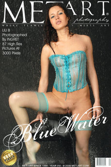 erotic photography gallery Blue Water with Lili B