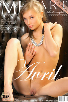 MetArt Gallery Presenting Avril with MetArt Model Avril B