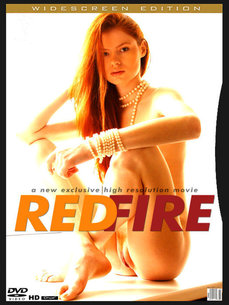 erotic photography gallery Red Fire with Tanya I