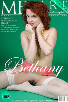 126 MetArt members tagged Bethany A and erotic images gallery Presenting Bethany 'red hair'