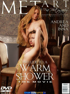 erotic photography gallery Prelude To A Warm Shower with Andrea C & Inna Q