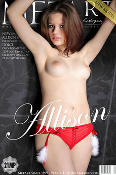 7 MetArt members tagged Allison B and naked pictures gallery Presenting Allison 'all natural'