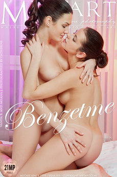 200 MetArt members tagged Milana J & Vanda B and naked pictures gallery Benzetme 'brunette'