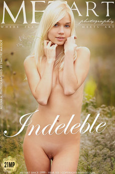 Met Art Indeleble erotic photos gallery with MetArt model Aljena A