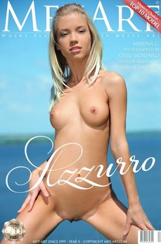 43 MetArt members tagged Marina C and nude pictures gallery Azzurro 'more please'