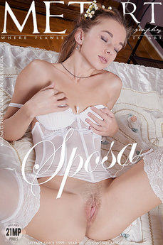 2 MetArt members tagged Milena D and nude photos gallery Sposa 'bride'