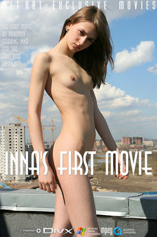 33 MetArt members tagged Inna C and erotic images gallery Inna's First Movie 'snow'