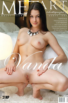 MetArt Gallery Presenting Vanda with MetArt Model Vanda B