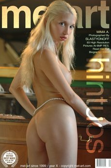 1 MetArt members tagged Mima A and nude pictures gallery Hintuos 'pearls'