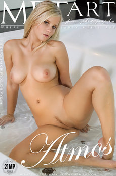 6 MetArt members tagged Miela A and naked pictures gallery Atmos 'bathtub'