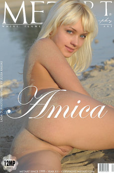 10 MetArt members tagged Lada D and naked pictures gallery Amica 'beach'