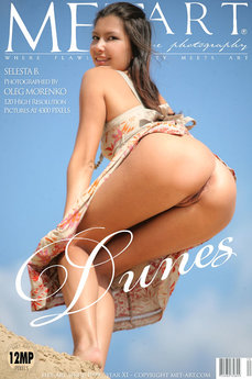 107 MetArt members tagged Selesta B and erotic photos gallery Dunes 'more please'