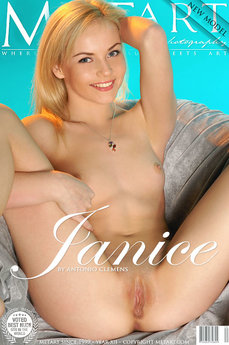 MetArt Janice A Photo Gallery Presenting Janice Antonio Clemens