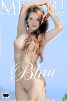 MetArt Gallery Blau with MetArt Model Ariana A