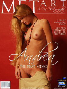 MetArt Andrea C in Andrea The First Video