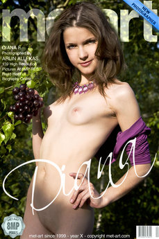 101 MetArt members tagged Diana F and erotic photos gallery Presenting Diana 'skinny'